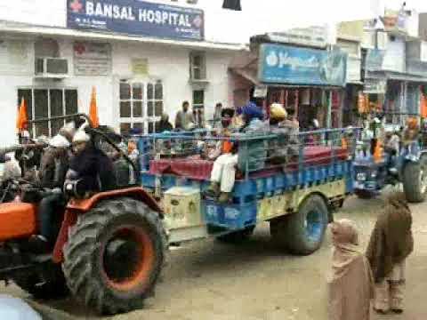 Aao Nagar Kirtan De Darshan Paiye(DHANAULA)11.01.2010 Xclusive....By-YoungBlood Revolution