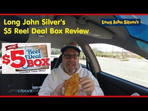 Long John Silver's Reel Deal 5 Dollar Box   JKMCraveTV