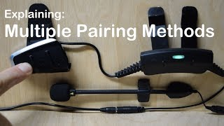 Cardo PACKTALK SLIM - Explanation of various Pairing Modes