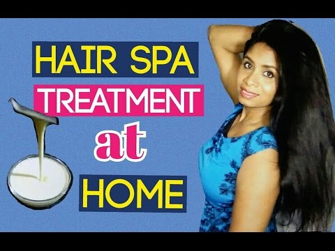 DIY – Hair Spa Treatment at Home Naturally