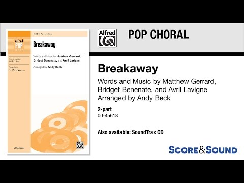 Breakaway, arr. Andy Beck – Score & Sound