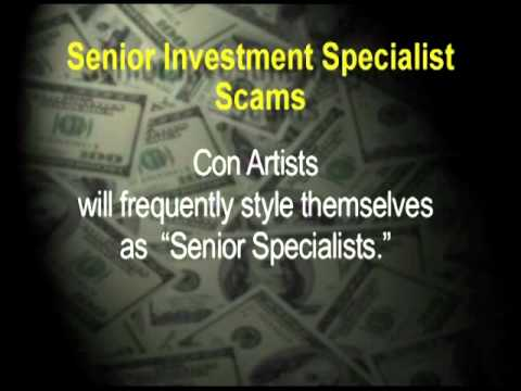 Investor Protection Presentation - Senior Scams