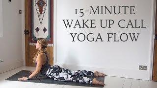 Video 15-MINUTE MORNING YOGA FLOW   Gentle All Levels Yoga   CAT MEFFAN download MP3, 3GP, MP4, WEBM, AVI, FLV Maret 2018