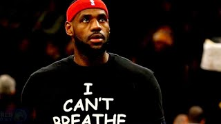 "NBA player posts photo wearing T-shirt reading ""I Can't Breathe"" in response to Floyd's death"