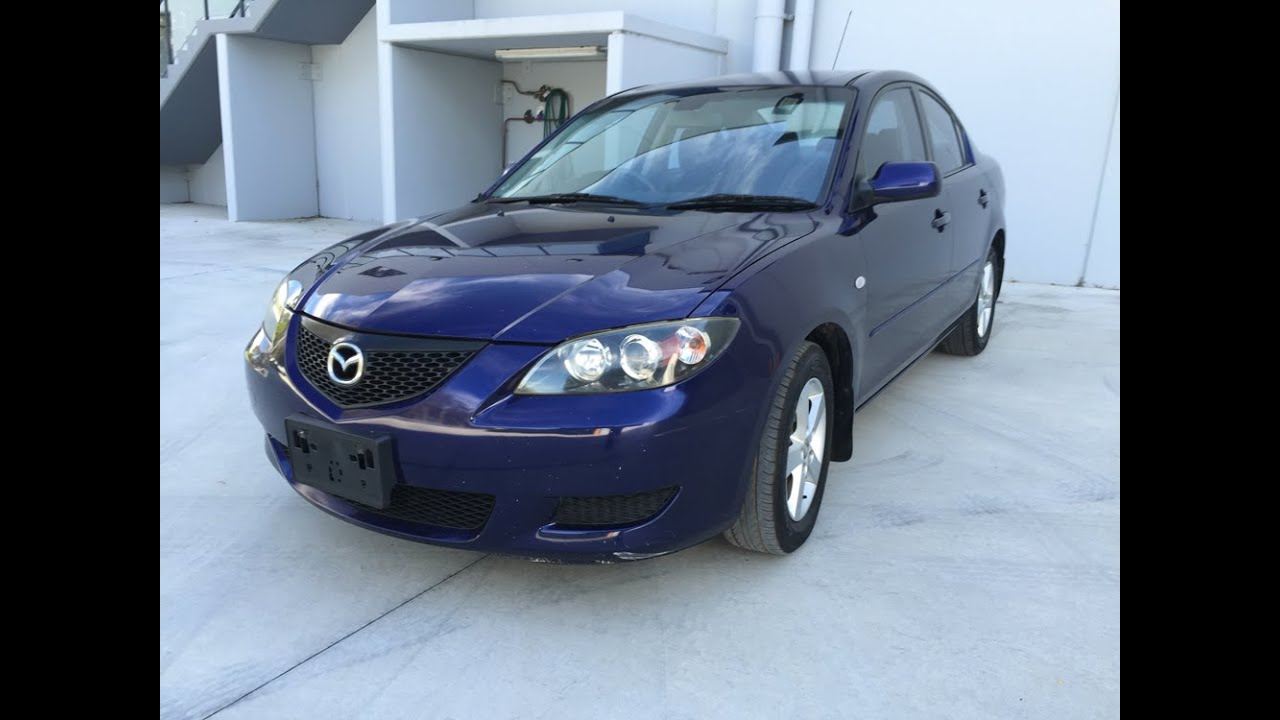 SOLD) 2004 Mazda 3 review Automatic for sale - YouTube