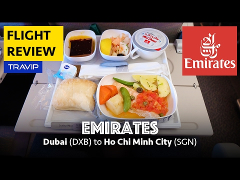 Emirates flight review: Dubai to Ho Chi Minh City