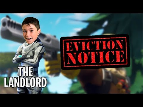 THE LANDLORD TAKES OVER FORTNITE!!