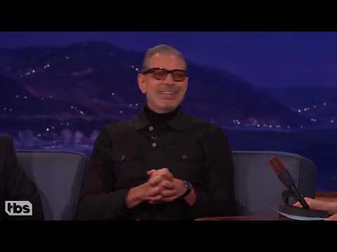 Jeff Goldblum is weird on Conan compilation
