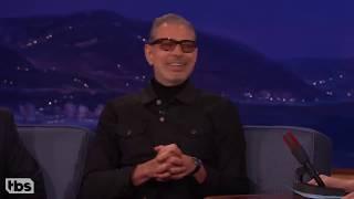 Jeff Goldblum is weird on Conan (compilation)