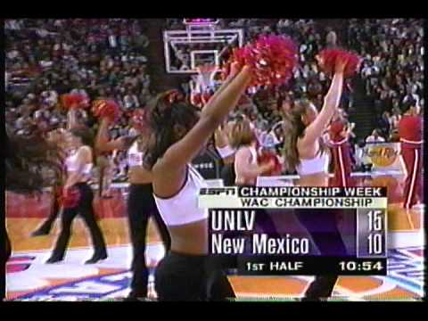 UNLV vs New Mexico 1998 WAC Tournament Final