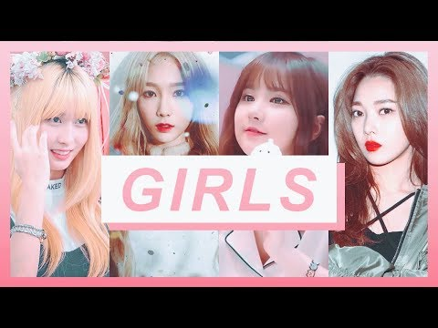 [ FMV ] I was busy thinking about girls. ❀ // kpop multifemale.