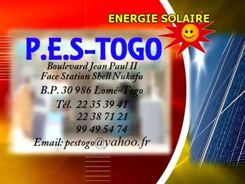 Spot Pes Togo Energie solaire