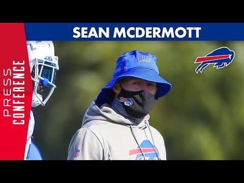 Sean McDermott Preview Kansas City Chiefs Matchup | Buffalo Bills