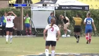 2013 Sun Belt Soccer Championship Quarterfinal - No 7 Georgia State vs No 2 South Alaba