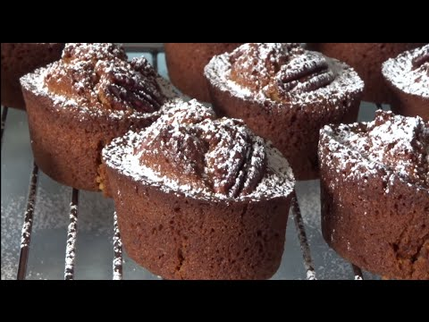 pecan and coffee friands