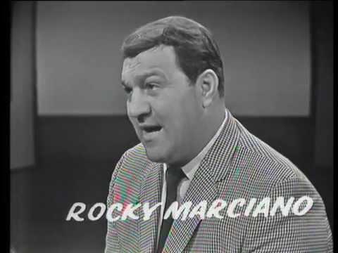 Rocky Marciano - 1966 Australian TV Interview - Muhammad Ali