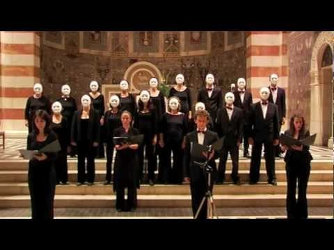 Story (John Cage   Living Room Music)   Jerusalem A Cappella Singers  Conducted By Judi Axelrod   YouTube