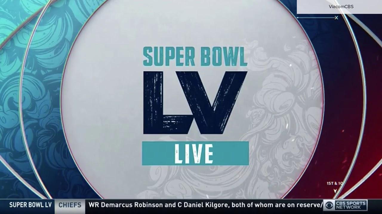 CBS Sports 'Super Bowl LV Live' open