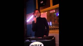 Serbian karaoke singer
