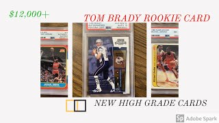 2000 Contenders Tom Brady Rookie Ticket Autograph PSA Authenticated