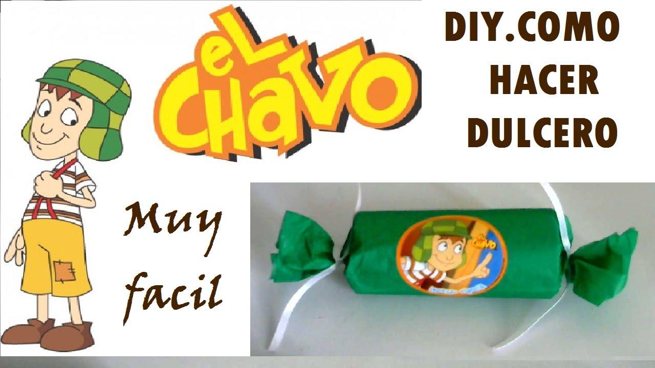 Diy como hacer dulcero del chavo facil y economico youtube for Decoracion del hogar facil y economico