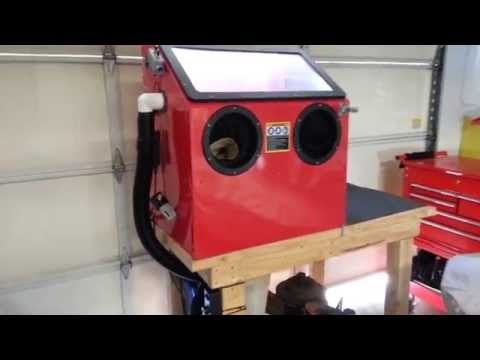 Harbor Freight Blast Cabinet Review 68893 Rebel Soulutions