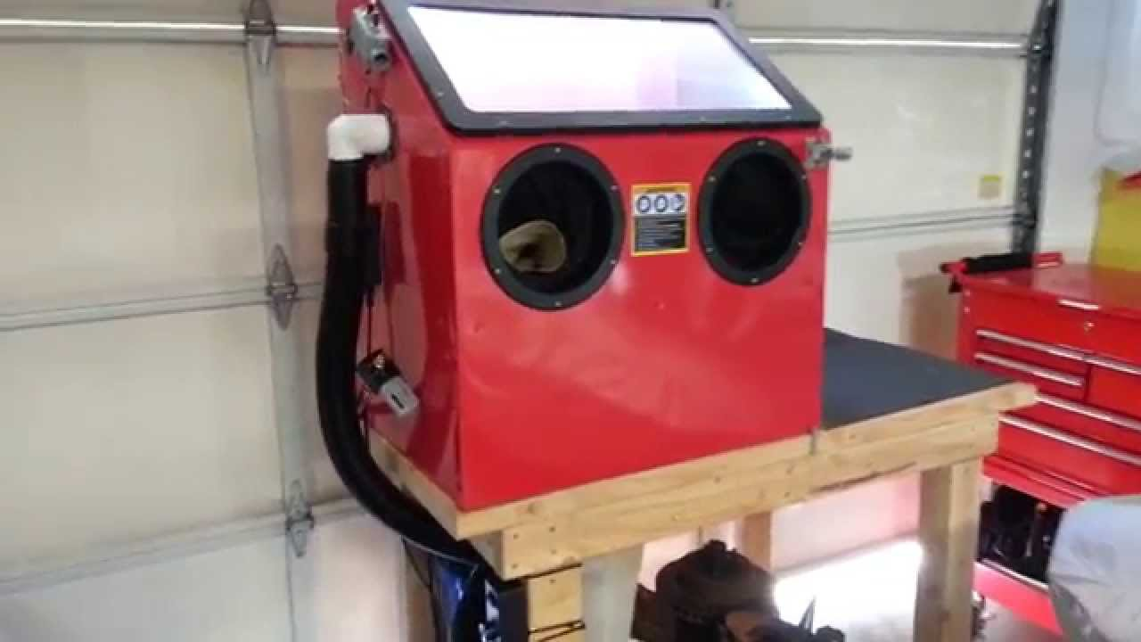 Harbor Freight blast cabinet-BEST MODS! - YouTube