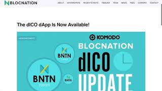 BLOCKNATION-DECENTRALISED ICO HAS ARRIVED