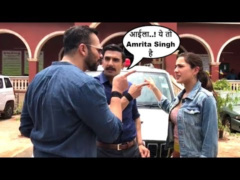 Ranveer Singh & Rohit Shetty Makes FUN Of Sara Ali Khan On The Sets Of SIMMBA Movie Mp3