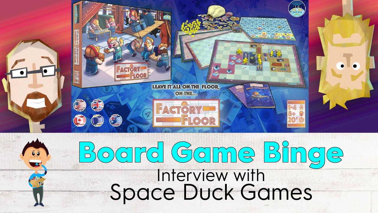 Interview on Board Game Binge