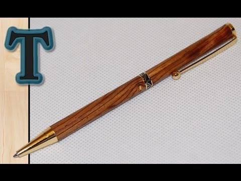 How to Make a Wooden Pen