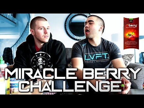 MIRACLE BERRY CHALLENGE