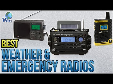 10 Best Weather & Emergency Radios 2018