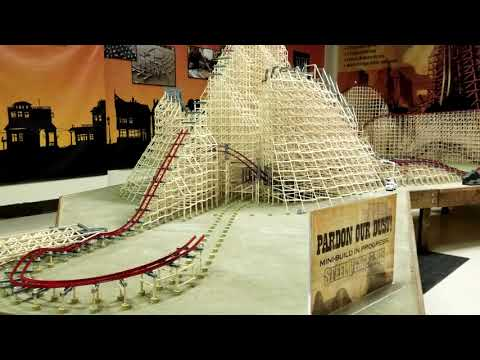 Incredible Steel Vengeance Model Under Construction at Cedar Point