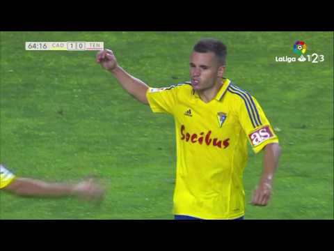 Golazo de Aketxe (1-0) Cádiz CF vs CD Tenerife