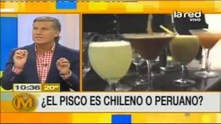 ¿El pisco es chileno o peruano?