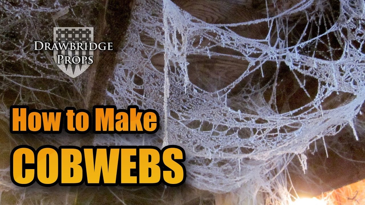 what are cobwebs made out of