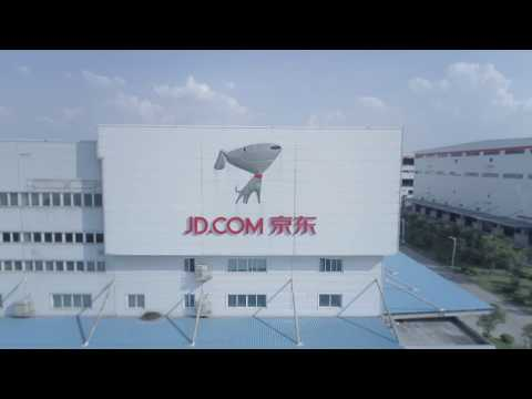 JD.com Fully Automated Warehouse in Shanghai