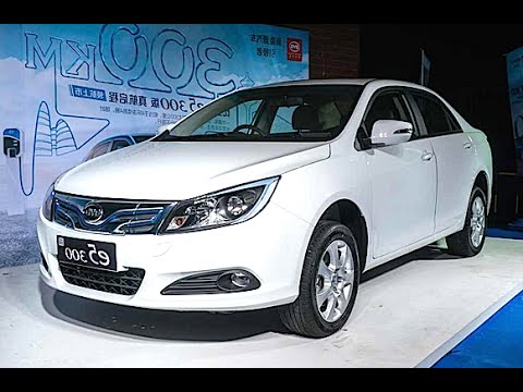 BYD E5 300 EV 2016, 2017 model launched on the Chinese car market