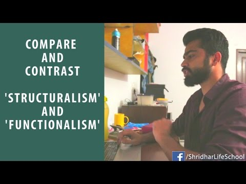 Structuralism vs Functionalism: Psychology School