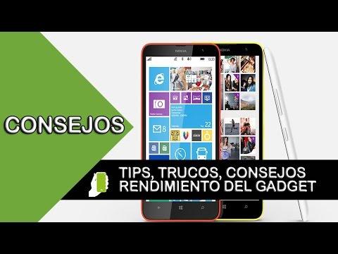 Nokia Lumia 1320 Tips y trucos (aumenta velocidad, rendimiento y batería)