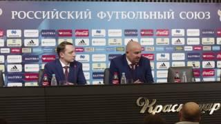 Станислав Черчесов: я не судья чтобы говорить о свисте в адрес сборной России