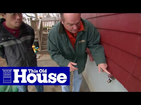 How to Replace an Outdoor Faucet with a Frost-Proof Sillcock - This Old House