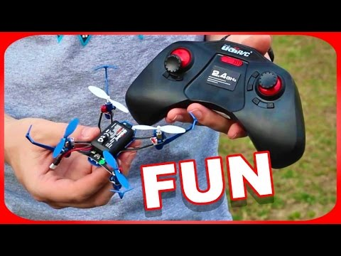 Fun Outdoor Quadcopter Redemption - Udi U32 3D RC Drone - TheRcSaylors