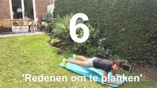 6 redenen om te planken - #6 - Thuis Trainen - Jacqueline van Dijk