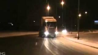 Mini Truck does a Tokyo Drift