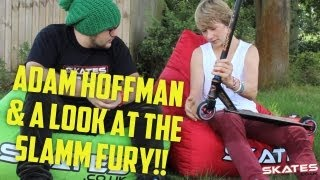 Adam Hofman & The New Slamm Fury Scooter | Scoot Fest 2012 Ben Grace Interviews
