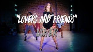 "Usher - ""Lovers and Friends""   Nicole Kirkland Choreography"