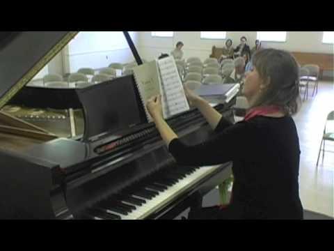 "Original Piano Music ""Vistas I ""  selections by Julia Muench"