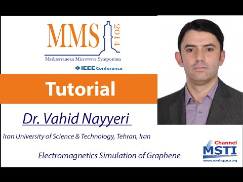 MMS14 - Electromagnetics Simulation of Graphene